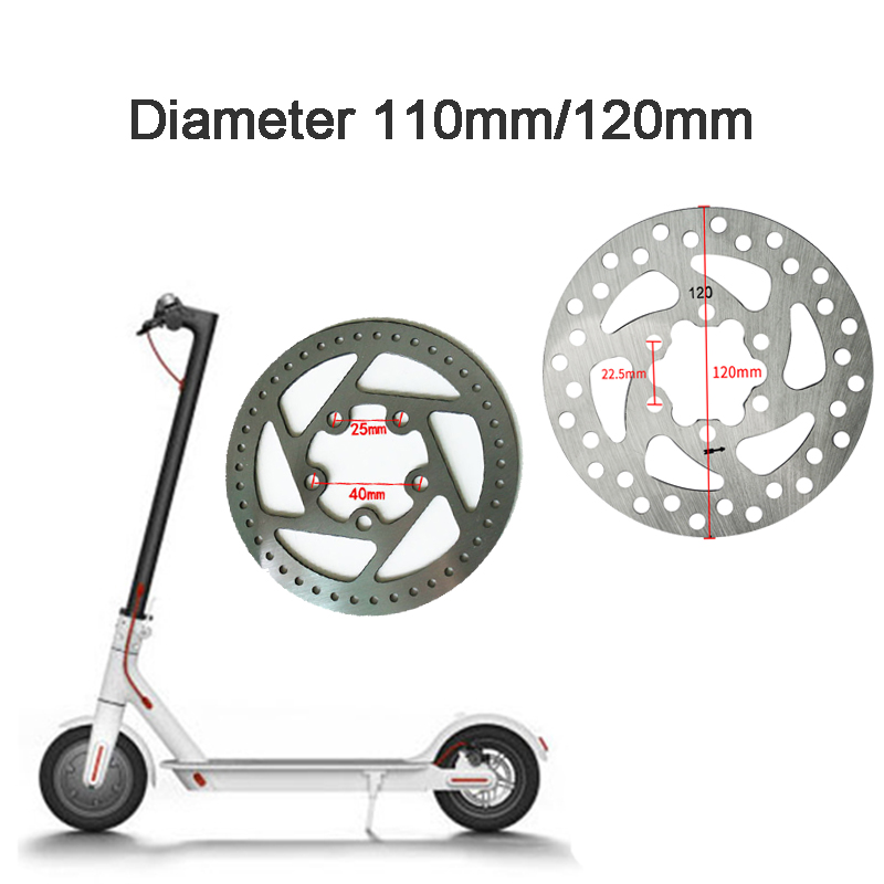 Original Mijia M365 Rear Wheel Disc Brake Disc for xiaomi M365 Electric Scooter Brake Lever Pads