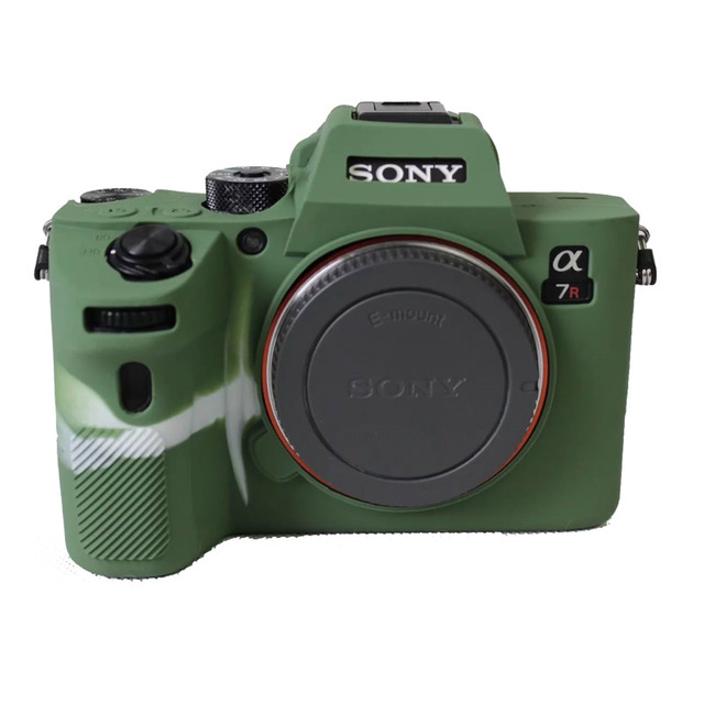 brand new 35d66 6f525 US $10.25 10% OFF|Soft Silicone Case for SONY A7RM3 A7R3 III A7M3 A7III  Protective Cover Shell Case for Mirrorless Digital Camera-in Camera/Video  Bags ...