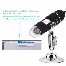 1000x USB Цифровой Микроскоп 500x 800x Увеличение HD 8-СВЕТОДИОДНЫЙ Мини Микроскоп Лупа Стенд Штатив Базы formac Окно