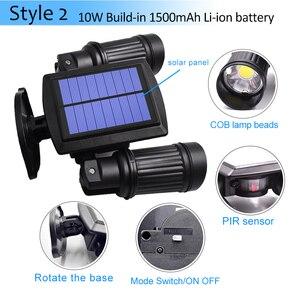 Image 3 - Super Bright 14 LED Waterproof PIR Motion Sensor Solar Powered Light ,led solar lights Garden Security Lamp Outdoor Street Light