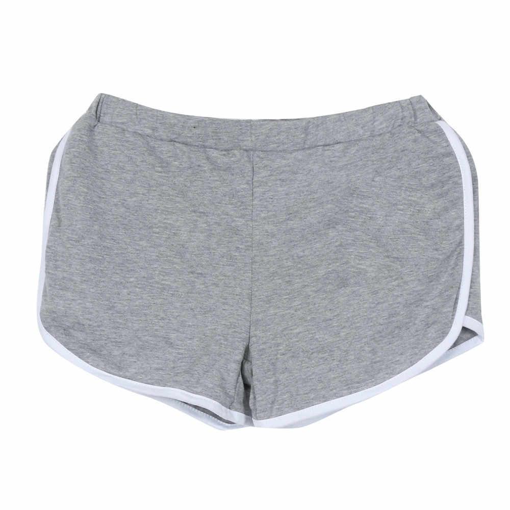 New Feminino Shorts Esportes de Cintura Alta Curto para As Mulheres Verão Shorts Apertados Ginásio de Fitness Treino Curto #4 Cothing