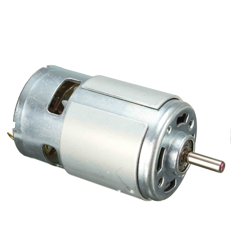 New 13000 15000rpm dc 12v 150w 775 motor high speed large for High torque high speed dc motor