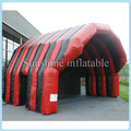 6x6x4m giant mobile waterproof concert cover inflatable stage tent inflatable stage cover/air roof cover