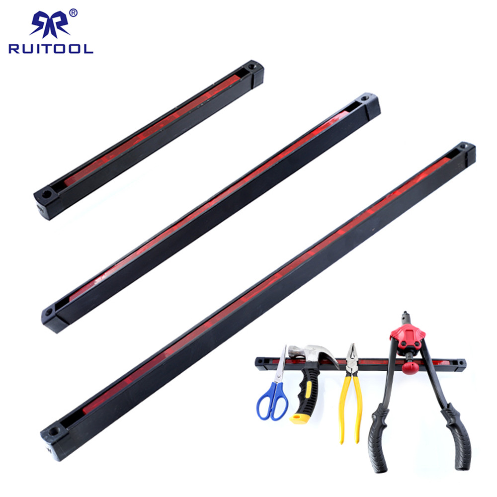 Magnetic Tools Holder Double-Sided Rack 12