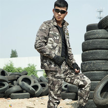 New Spring Autumn Men's Tactical Army Military uniform combat jackets+ pant suit Outside CS Military Training 4XL Free Shipping