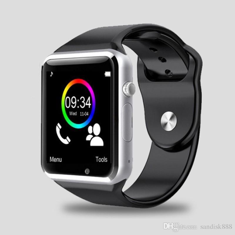 Popularni Smart Watch A1 W8 s fotoaparatom s sim karticom Bluetooth - Pametna elektronika - Foto 1