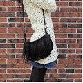 Baratos Por Atacado 2015 nova primavera pequeno bolsa de ombro franjas saco Mensageiro influxo pacote das mulheres saco de moda casual feminina