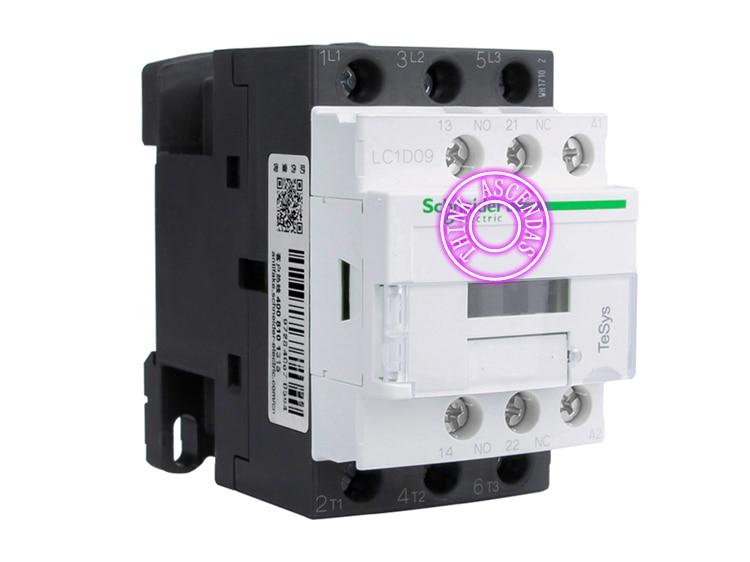 LC1D Series Contactor LC1D09 LC1D09BD 24V LC1D09CD 36V LC1D09DD 96V LC1D09ED 48V LC1D09FDC 110V LC1D09GDC 125V LC1D09JDC 12V DC new cad50bdc dc24v tesys d series contactor control relay 5no 0nc