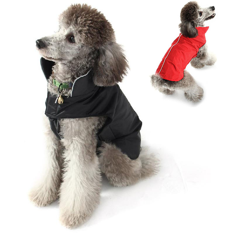 Waterproof Pet Dog Puppy Jacket Clothes Winter Raincoat Warm Vest Reflective M-XXXL