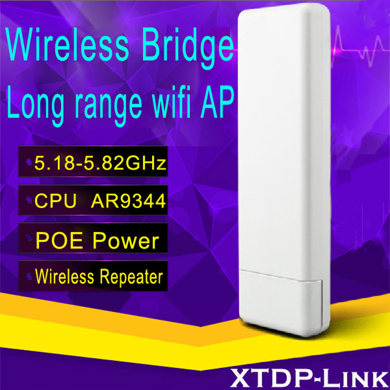 ФОТО Qaulcomm Chip AR9344 300M Portable Mini Router  AP Repeater Client Bridge Wireless long range wifi outdoor router 5.8GHz cpe