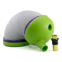 New Plastic Foldable Smoke Pipe Water Pipe Travel Pipe Hookah Shisha Chicha Insect Shape Green Color