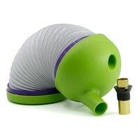 Nuovo Pieghevole In Plastica Fumo Tubo di Acqua Tubo di Viaggi del Narghilé Shisha Chicha Insetto Forma Colore Verde