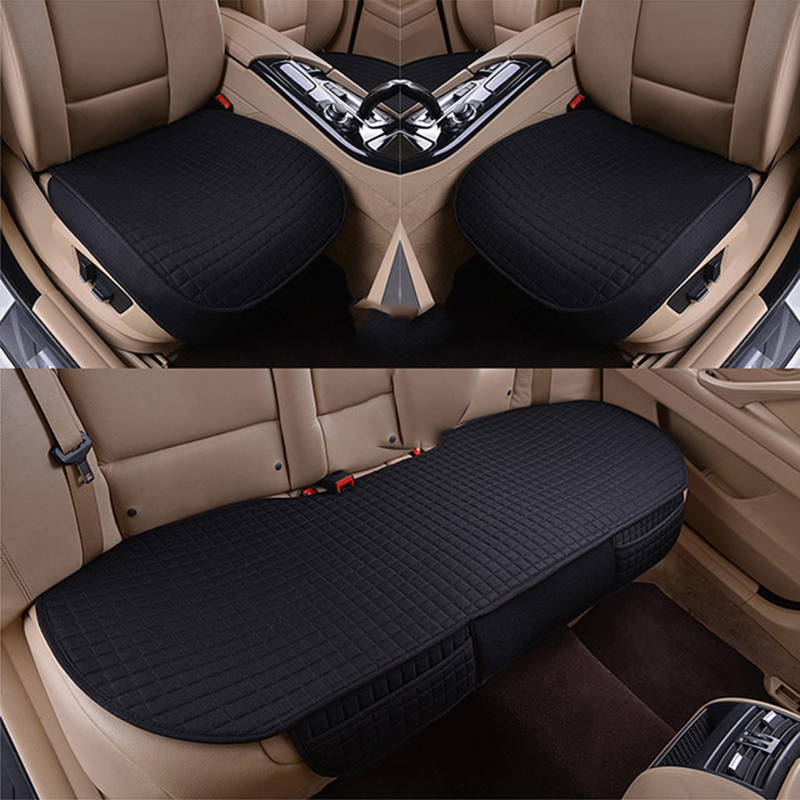 Car seat cover auto seats covers vehicle universal for cadillac cts xts xt5 ats sls ct5 ct6 escalade of 2018 2017 2016 2015 all surrounded durable carpet special car floor mats for cadillac ct6 xts xt5 sls cts ats escalade srx xlr most models