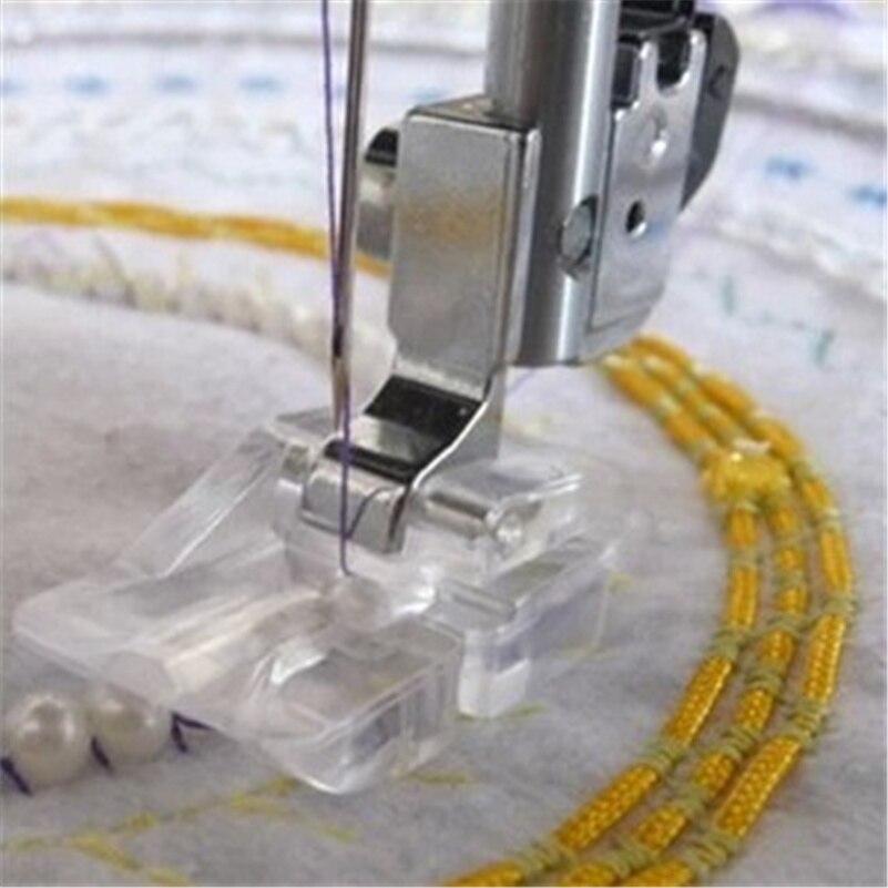 Reunión Nacional de máquina de coser pie funciona en hermano