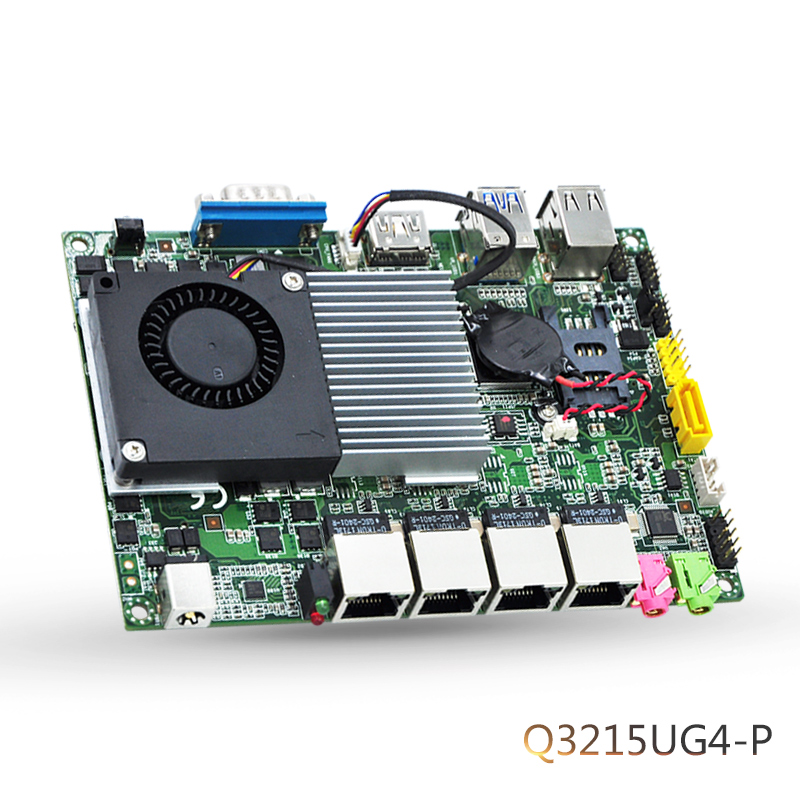 Pfsense 6 LAN Gigabit Ethernet Motherboard Mini ITX With Intel