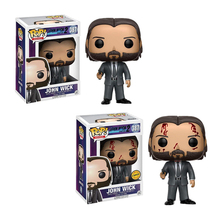 цены Funko pop #387 JOHN WICK Limited Edition Chase Action & Figures Toy Vinyl Doll Collectible Model Toys for Children Birthday Gift