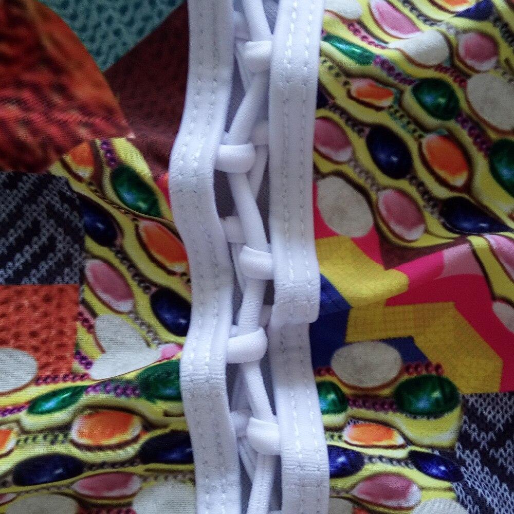 a0d7d237bb846 2016 Sexy Crochet Maillot Une Pièce en Creux Monokini Maillot de Bain  Femmes Lace Up Avant Beachwear Maillots de Bain Maillot De Bain dans D'une  Seule Pièce ...