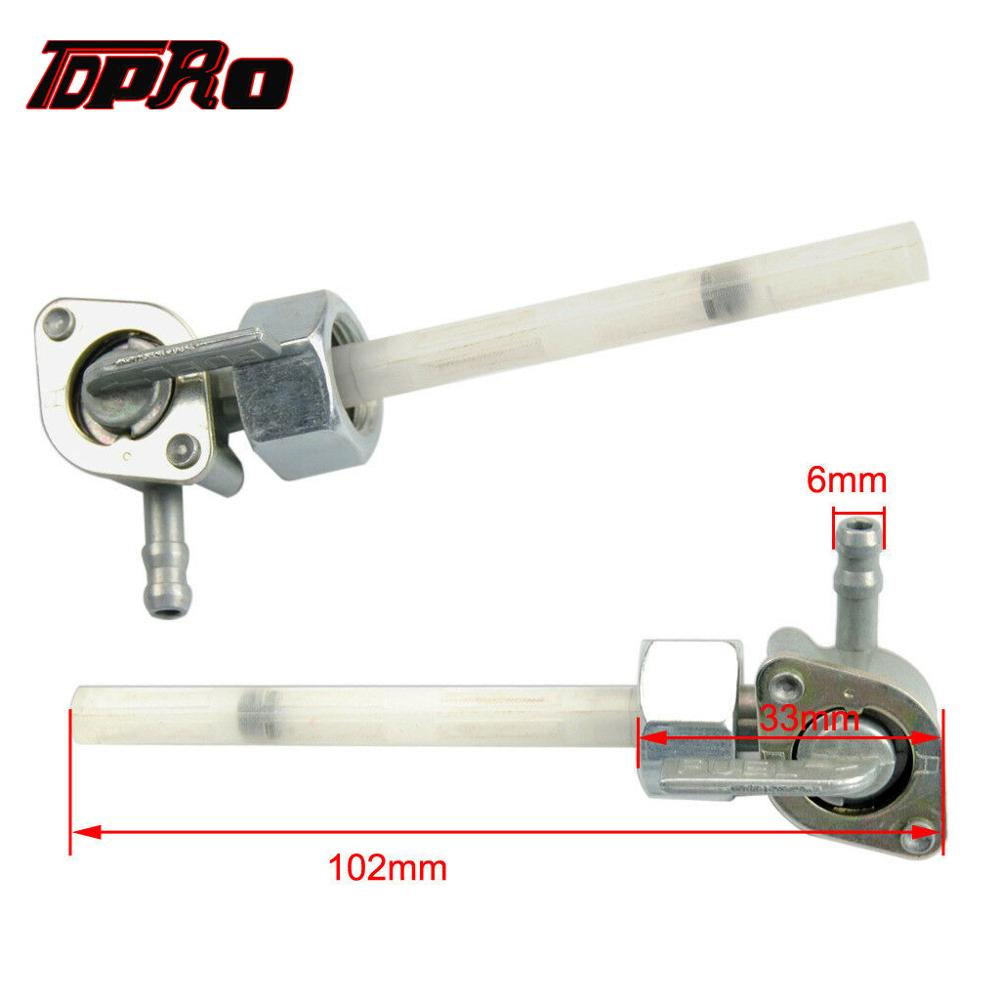 TDPRO Motorcycle Gas Petrol Fuel Tank Switch Tap Petcock Valve Open Close Switches For Honda XR50 CRF50 ATV Quad Pit Dirt Bike in Fuel Tank from Automobiles Motorcycles