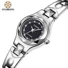 STARKING Frauen Quarz Uhren Wolfram Luxus Mode Lässig Berühmte Marke 2016 Neue Ankunft Strass Schwarz Uhr BL0415