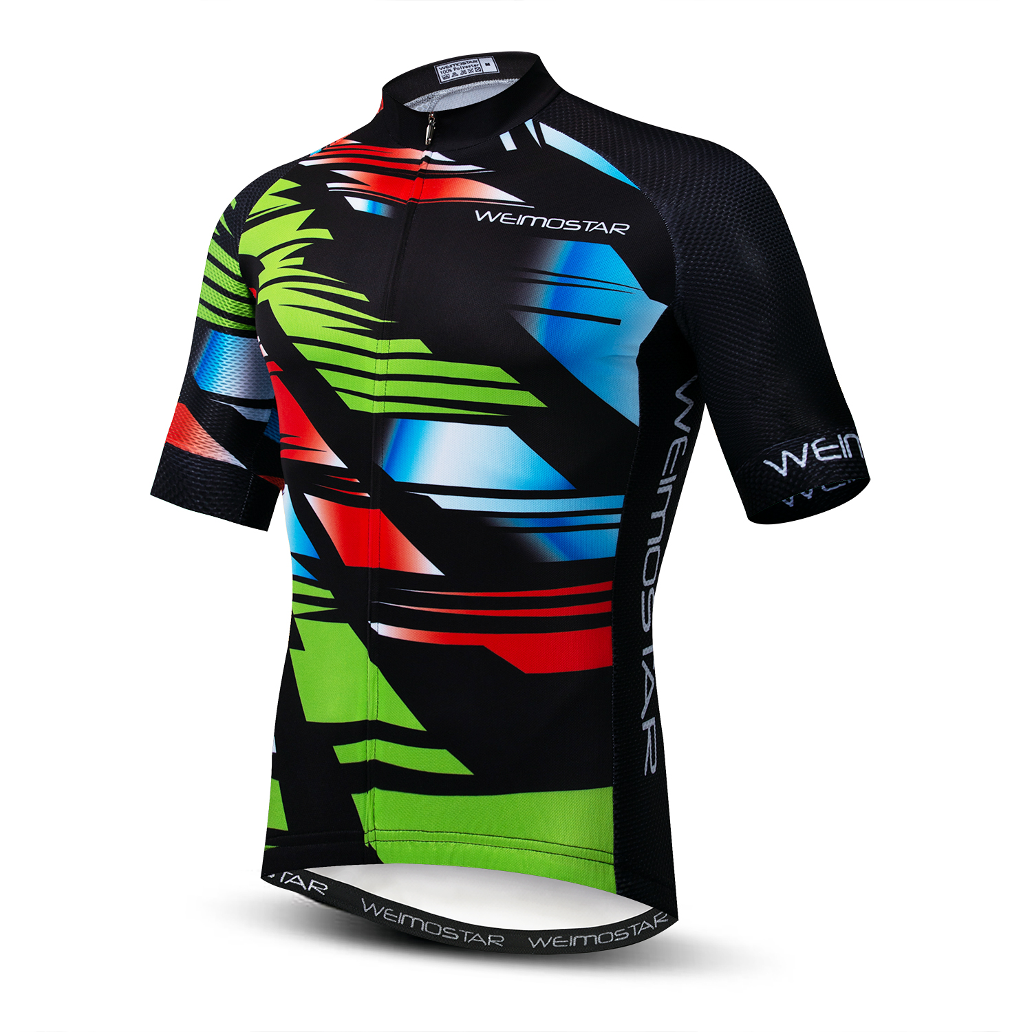 2019 Weimostar Cycling Jersey mens mtb Jerseys road Bike bicycle shirts  Ropa Ciclismo maillot Racing tops colorful riding wear(China)