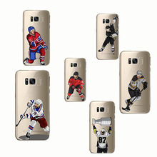 Soft Silicon phone cover Sport Ice Hockey Cartoon Phone Cases for Samsung Galaxy S6 S7 S8 S9 edge plus Note 4 5 8