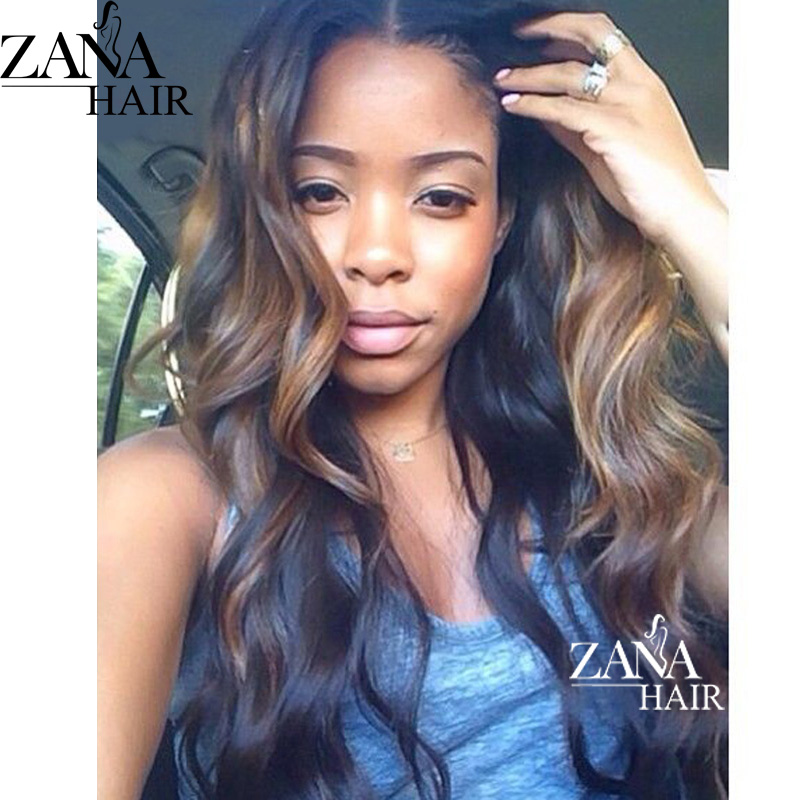 7A Soft Lace Front Human Hair Wigs Body Wave Brazilian Virgin Front Lace  Wigs Glueless Full Lace Human Hair Wigs for Black Women a2b9c5679e88