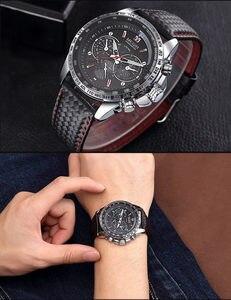 Image 5 - MEGIR zegarek mężczyźni Sport wodoodporny zegar kwarcowy Top marka luksusowy biznes wojskowy męski zegarek Relogio Masculino 1010