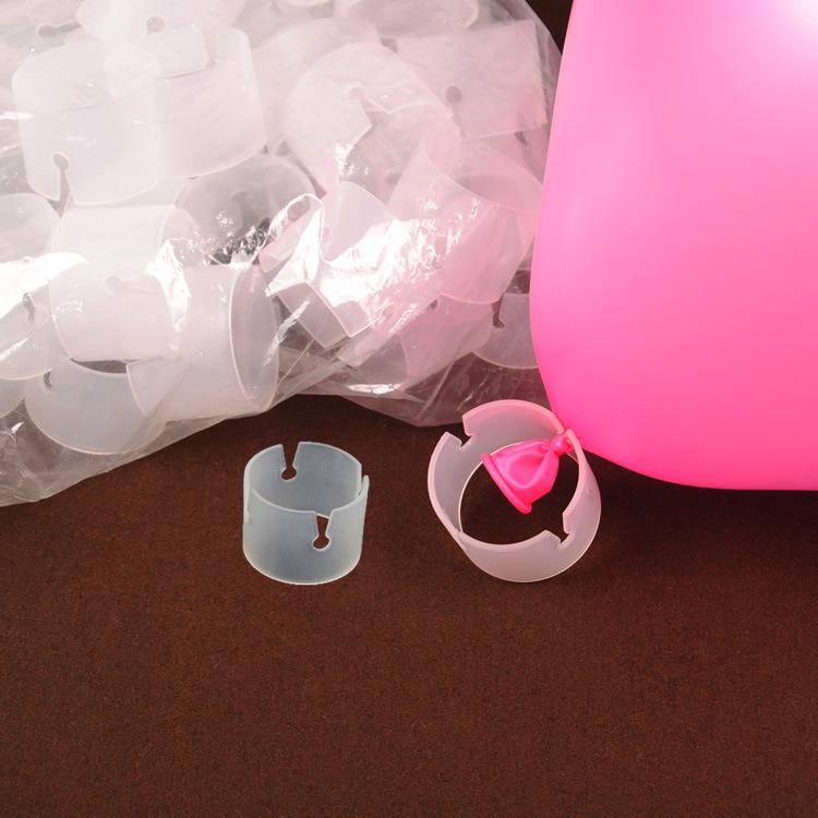 envo unidslote plstico clips para la fabricacin de globos globo columna partido decoracin