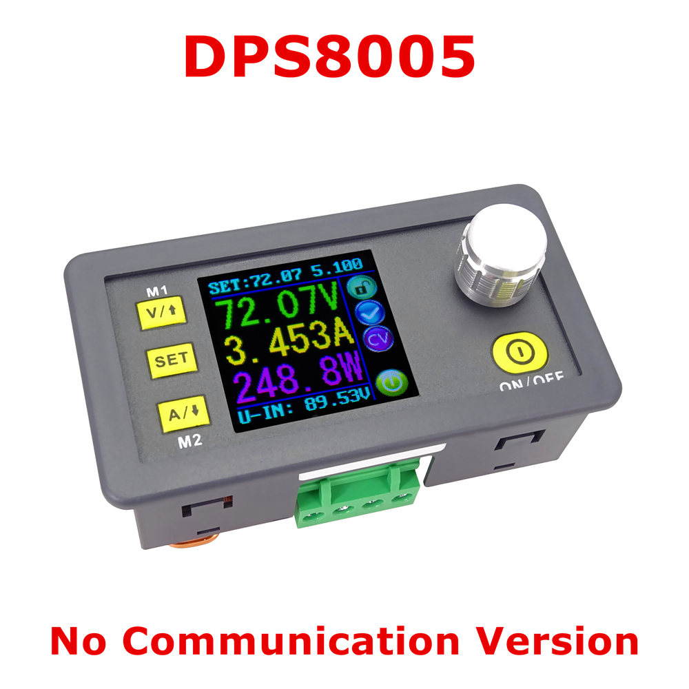 RD Digital switching power supply Programmable power source Constant Voltage Current Step-down Voltmeter Ammeter Buck Converter solar energy wind power regulator charging automatic buck voltage constant voltage constant current adjustable power supply