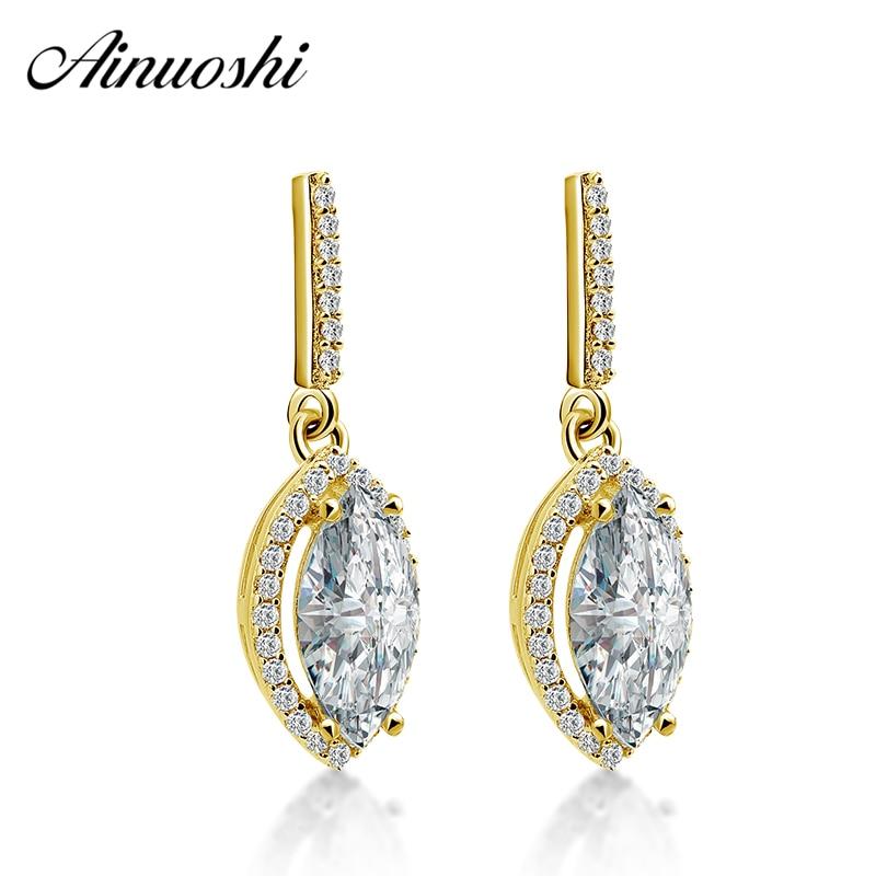 1.60 Ct Asscher Coupe Simulé Diamant Clous D/'Oreilles 14K or Blanc Vis Arrière
