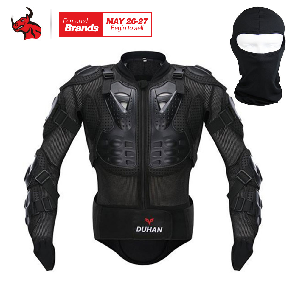 DUHAN Motorcycle Jacket Motorcycle Armor Riding Body Prtection Motorcross Racing Full Body Armor Spine Chest Protective Jacket scoyco professional motorcycle full body armor protector protective motorcycle body armor motorcycle jacket black and red