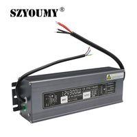 DC 12V 25A Lighting Transformer Power Supply 12V 300W LED Driver Waterproof Adapter IP67 For Light Strip