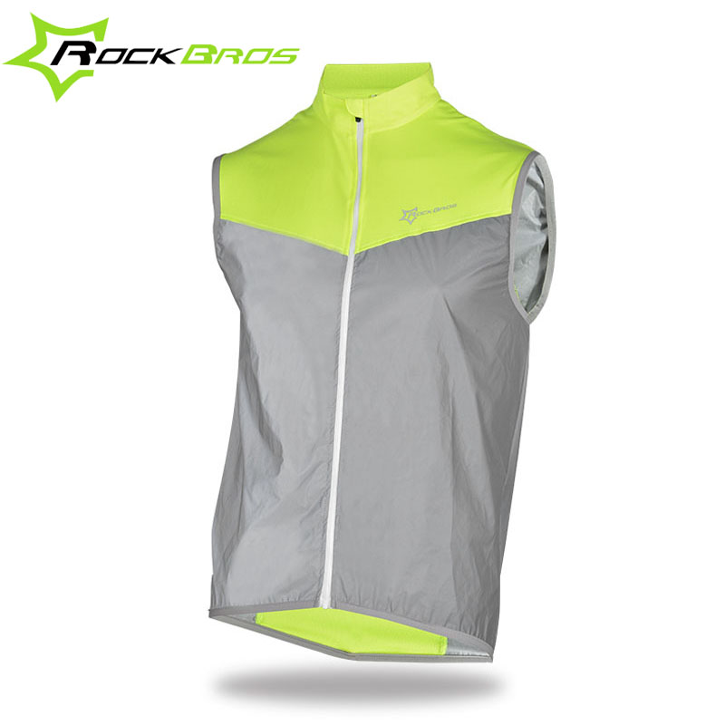 Cycling Safety Protective Vest Bike Bicycle Light Reflecing Elastic Outdoor Vest