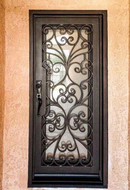 Custom 39 X96wrought Iron Doors Front Doors Iron Entry Doors Hench