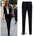 Hot Major Suit Summer Spring Zipped Zips Slim Skinny Pencil Trousers Feet Pants Leggings for Women Ladies Female Dress