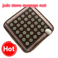 2017 NEW Natural Jade Tourmaline Stones Infrared Heating Mat Jade Stone Massage Mat