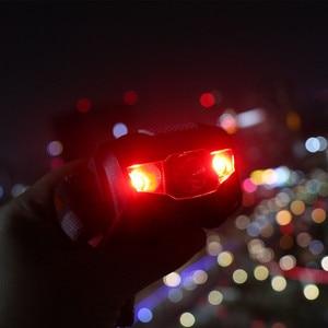 Image 5 - mini  Headlamp 4 Mode lightweight Waterproof LED Head light Camping Head lamp Travel mini hike Headlight AAA battery