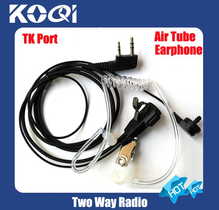 5pcs Free shipping free interphone Earphone for <font><b>TK</b></font> port radio <font><b>TK</b></font>-<font><b>3107</b></font> <font><b>TK</b></font>-3307 <font><b>TK</b></font>-F8 TK3207 TK2207 2-way radio TK2107 interphone image