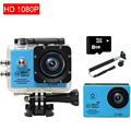 gopro hero 4 style Action Camera wifi camara 7000 action camara deportiva go Waterproof proSport  Camera+8G card+Monopod