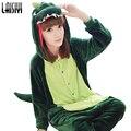 Laisiyi Unisex Adult Flannel Pajamas Sets Cosplay Cartoon Animal Onesie Pyjama Fleece Sleepwear Suit Pikachu Tiger SL0002