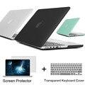 Лучший Ноутбук Чехол Для Apple MacBook Pro 13 15 дюйма с Retina/CD ROM + Крышка Клавиатура + Экран протектор