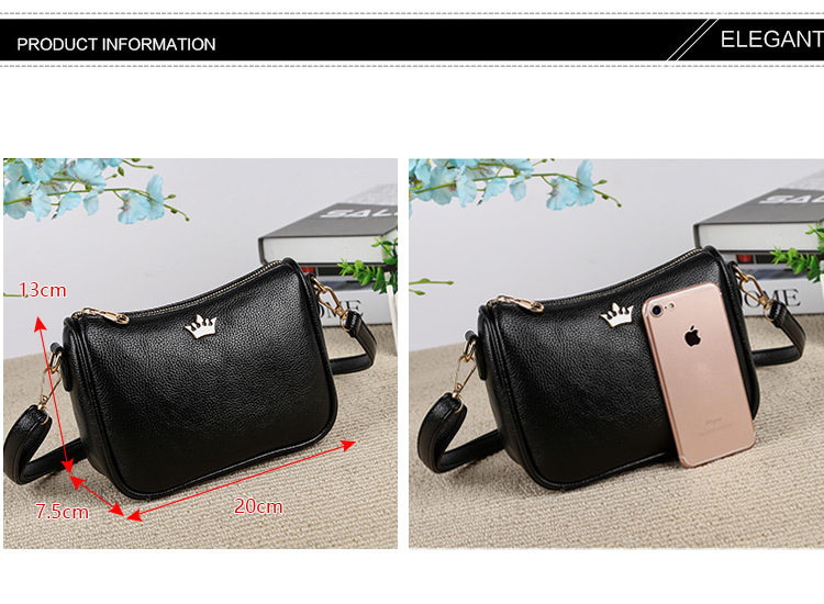 d6f20b084c4a Detail Feedback Questions about Aliwood Brand Shoulder Bag Crown ...