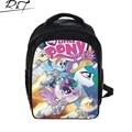 New 13 inch small kindergarten bag girls cartoon my little pony school bag kids lovely schoolbag children gift in stock free