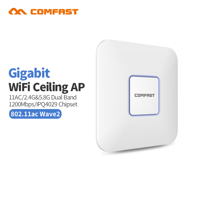2PC Comfast AC1200 WIFI Repeater/Router/Access point 2.4+5.8 Ghz Wi-Fi Range Extender Wifi Signal Amplifier Antennas Ap Bridge wavlink ac1200 wifi repeater router access point ap wireless range extender wifi signal amplifier with external antennas black