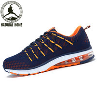 NaturalHome 2017 Professional Running Shoes For Men High Quality Sneakers Women Breathable Mesh Sports Shoes