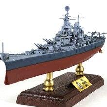 Новинка 1/700 USS Missouri, статическая Готовая модель броненосца из сплава, коллекционные вещи