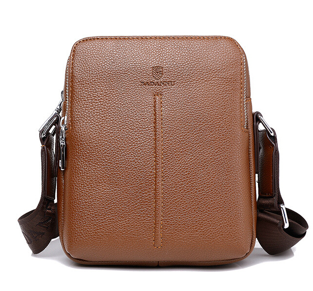 Free shipping 2016 Hot Sell!!! High Quality Genuine leather messenger bag fashion men's shoulder bag