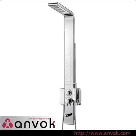 Stainless Steel Hydromassage Shower Column