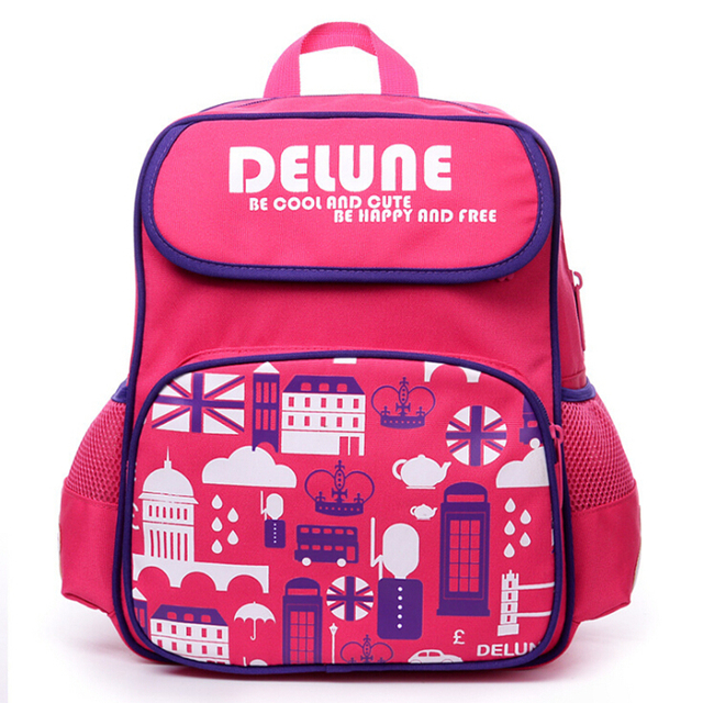 Aliexpress.com : Buy Delune Brand Children Cartoon School Bags For ...