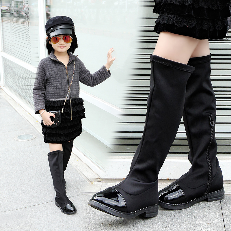 Online Get Cheap Girl Black Boots -Aliexpress.com   Alibaba Group